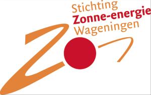 Logo stichting zonne-energie Wageningen