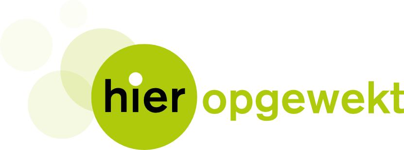 logo hieropgewekt
